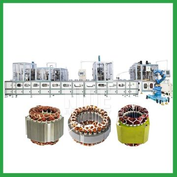 coil winding mahcine stator production line for three phase washing machine