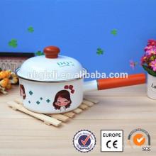 Enamelware Casserole disposable cooking pot