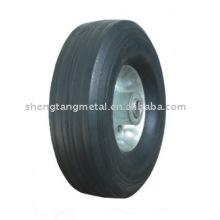 Твердые резиновые колеса SR1002 10 дюймов для ручной тележки