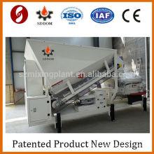 Calculateur de béton Mélangeur de ciment, mini usine de mélange de béton