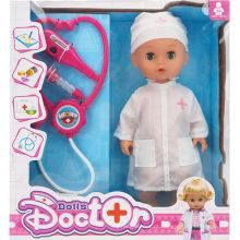 Doutor, menino, doutor, jogo, brinquedo, jogo