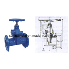 Válvula de compuerta asentada DIN3352-F5
