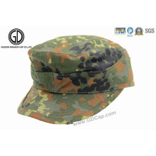 New Style Custom Camouflage Army Flat Cap Hat Military Cap