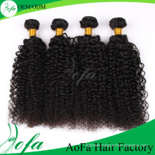 Hot-Selling 7A High Quality Kinky Curly Wave Virgin Mongolian Hair
