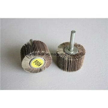Лоскут колеса с валом для шлифовки/полировки металла отверстие