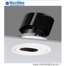 Alta CRI alta luminosidad regulable COB empotrada techo LED Downlight