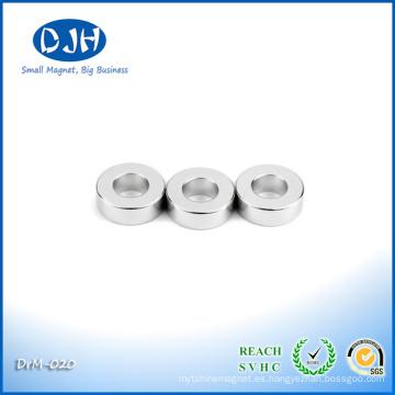 Imán de anillo realmente fuerte N48 para el componente del altavoz