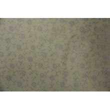 diseño agradable sofá tejido hecho de algodón / poliéster jacquard para el mercado de méxico con muchos colores