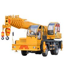 factory direct sale 6x6 Double pump crane truck Hydraulic Used Mobile crane