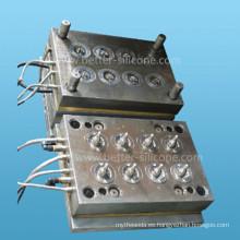 Herramientas de molde de inyección LSR para pezones médicos