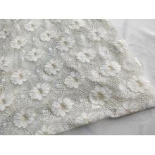 Metallic Lace Knitting Fabric