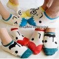 Chaussettes en coton Parent-enfant dessin animé heureux amants