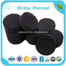 Fábrica Outlet Coconut Shisha carbón de leña Hookah Shisha carbón de leña