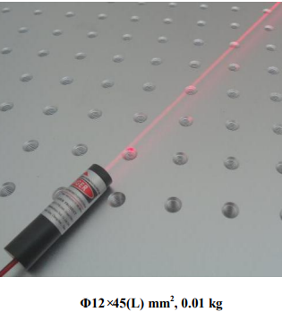 red diode laser module
