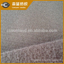 brushed polyester spandex ottoman fleece fabric for autumn trousers