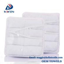 OEM supplier 25x25cm airline hand towel disposable hot and cold wet towel OEM supplier 25x25cm airline hand towel disposable hot and cold wet towel