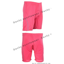 Women Pink Brief Quick Dry Cycling Shorts