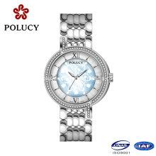 Personnalisé votre propre marque de luxe Mesdames envie Ronda mouvement Diamond Watch