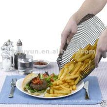 Teflon Non-stick Chips Mesh Basket