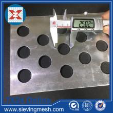 Panel de malla metálica perforada