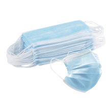 Adult Blue 3 Ply Face Mask Disposable
