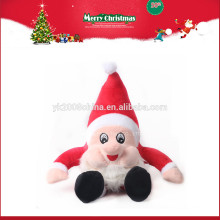 2016 new Santa Clause stuffed toys, Christmas hats plush gifts for promotion