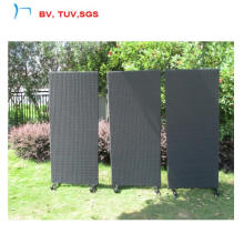 3 PCS Screen with Wheels for Garden Swimming Poor (CF1232H)