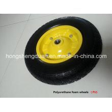 PU Form Wheel with Steel Rim