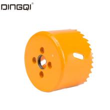 Биметаллическая кольцевая пила под частной торговой маркой DingQi 19 мм