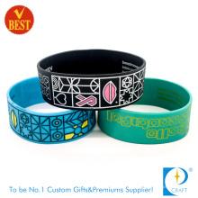 Bracelet en silicone bon marché promotionnel et bracelet en silicone (LN-011)