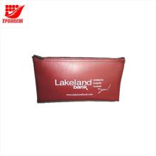 Kundengebundene Druckenplastikgeld PVC-Reißverschluss-Tasche