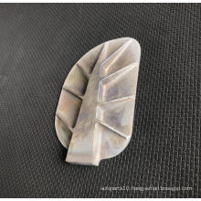 Aspherical wing mirror glass