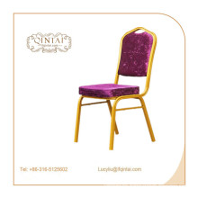 wholesale price stackable aluminum banquet chair