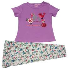 Summer Baby Girl Kids Suit for Children′s Apparel