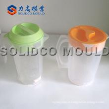 Molde plástico personalizado do jarro da injeção, molde plástico do copo