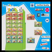 2015 Funny kid dinosaur block toy set with pdq box