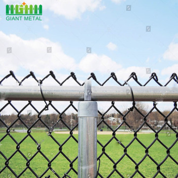 Green PVC Dilapisi Chain Link Fencing