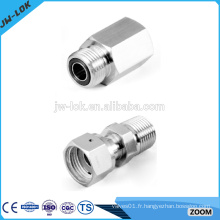 Raccords de tuyauterie bsp à compression en acier inoxydable