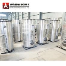 Caldera de generador de vapor de gas pequeño de tipo vertical