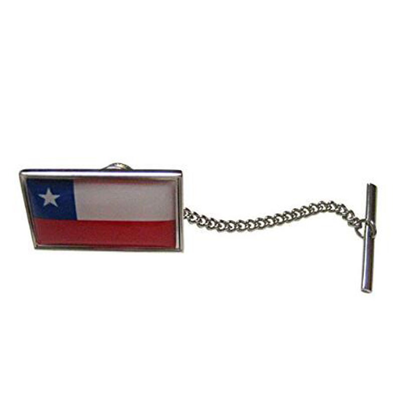 Chile Flag Tie Tack