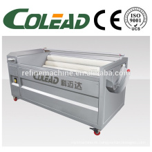 Hot sale onion peeler/brush type fruit cleaning and peeling machine,potato washing peeling machine/potato peeling machine