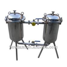 Filtre à double baril en acier inoxydable populaire