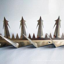 Wall spikes galvanized steel wall anti climb spikes