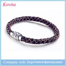 Baratos mens jóias pulseira de couro atacado china presentes de aniversário jóias para homens
