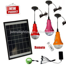CE & Patent portable solar LED lights wieh mobile charger