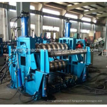Automaticly Hydraulic Punching PLC Control Steel Silo Roll Forming Machine