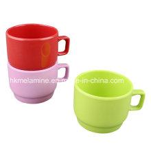Tasse de café de Stabkable de mélamine (CP096)
