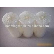 Huaming 7 días velas al por mayor exportadores / velas pilar blanco