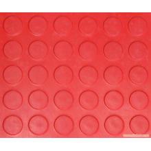 Красный Цвет Анти-Выскальзование Монетки Резиновый Лист Красного Круглого Стержня Резиновый Лист