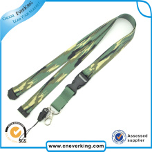 New Products Both Sides Printed Polyester Lanyards